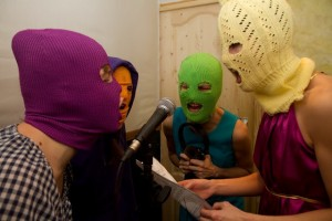 Pussy Riot in masks