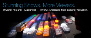 TriCaster Control Surface